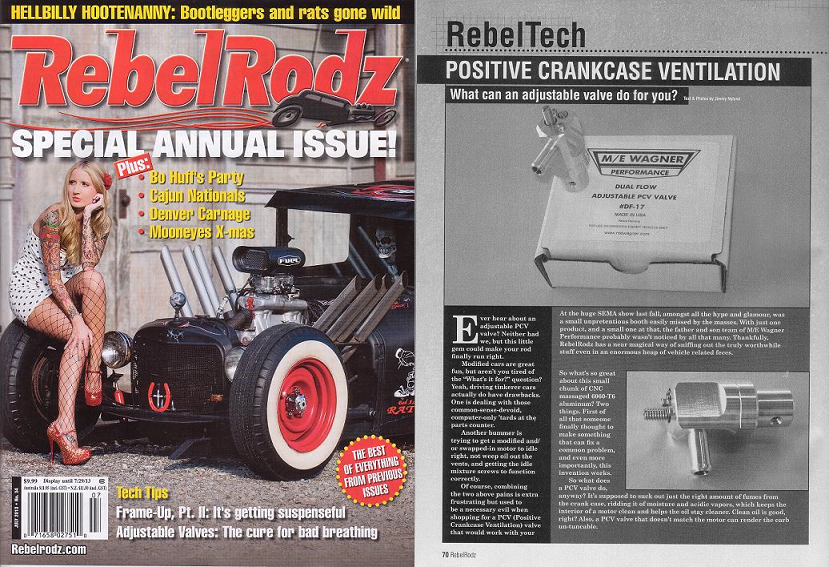 Rebel Rodz July 2013 Cover and Article